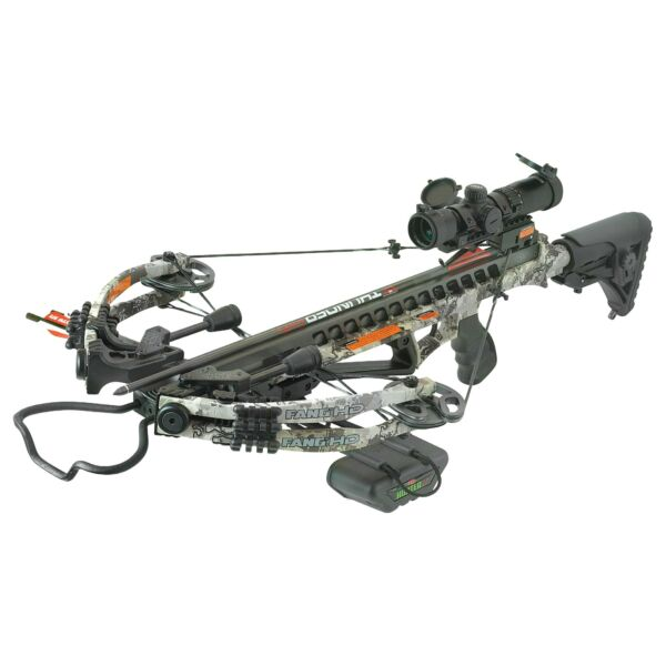 PSE Fang HD Crossbow Scope Package True Timber Viper Western Camo #01338VW