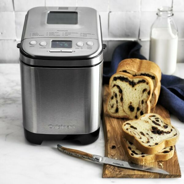 Cuisinart Bread Maker, Up To 2lb Loaf, Compact Small Footprint—Free Shipping!