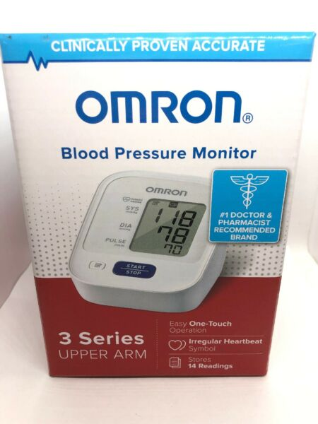 OMRON Upper Arm Blood Pressure Monitor BP7100 Free Shipping