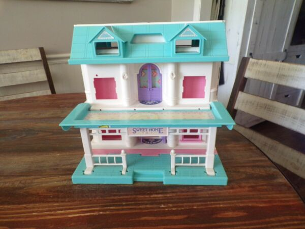 Vintage My Sweet Home Doll House Dollhouse 90's