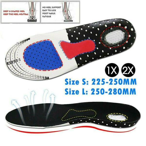 1 Pair Shoes Insoles Orthopedic Memory Foam Sport Arch Support Insert Soles Pad $8.99