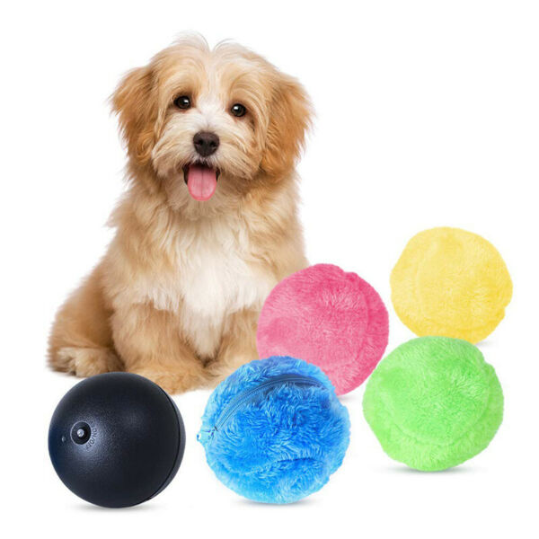 5pcs Magic Automatic Roller Ball Toy Puppy Rollerball Pet Dog Ball Toys $10.44