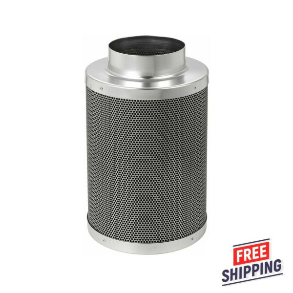 6quot; Inch Air Carbon Filter Replacement Virgin Charcoal For Inline Fan Grow Room $49.95