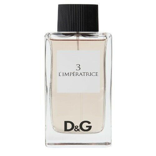 3 L#x27;Imperatrice by Dolce amp; Gabbana Damp;G 3.3 3.4 oz EDT Perfume for Women Tester