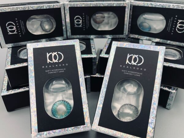 COLORED LENSES for dolls 2020 NEW 3 TONE NATURAL COLORED SOFT