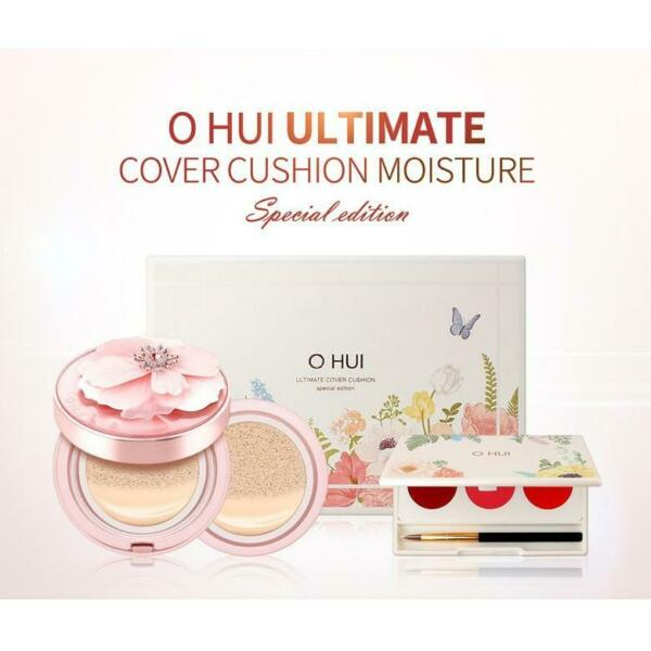 O Hui Ultimate Cover Cushion Moisture Flower Garden Special Edition $59.99