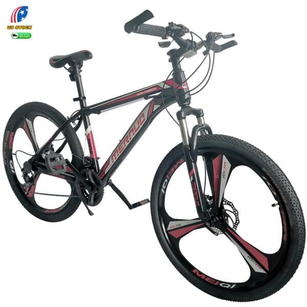 New 26quot; Front Suspension Mountain Bike 21 Speed Men#x27;s Bikes Bicycle MTB $189.98