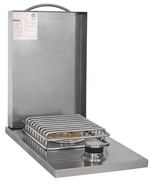 Blaze Grill Stainless Steel LTE Single Side Burner Natural Gas Open Box