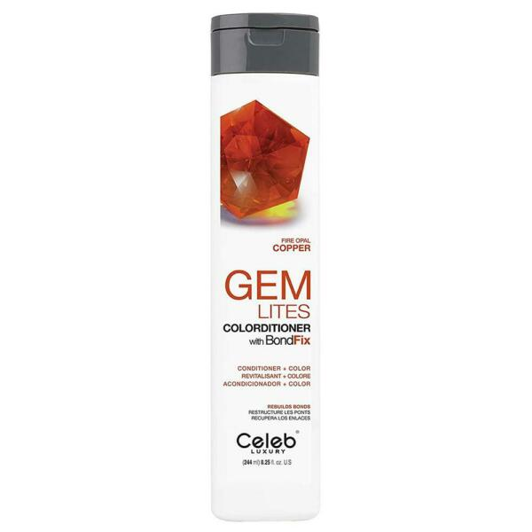 Celeb Luxury Gem Lites Colorditioner 8.25 oz Fire Opal New Free Shipping