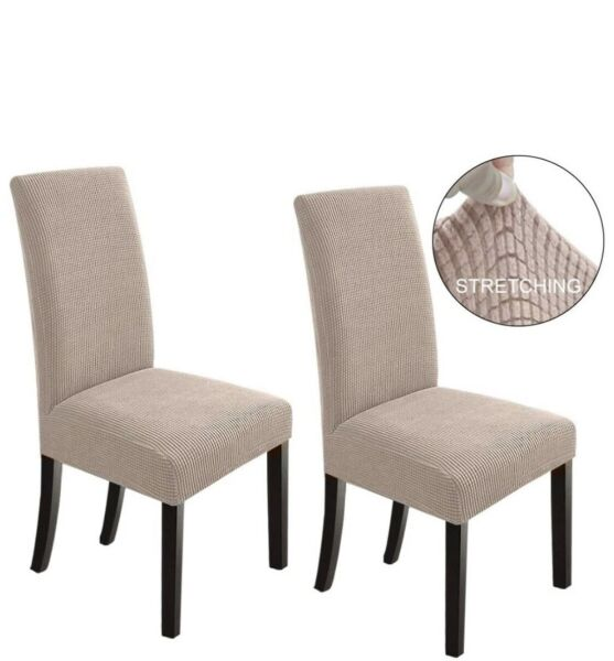 NORTHERN BROTHERS Dining Room Chair Slipcovers Dining Chair Covers Set Of 2 $12.99