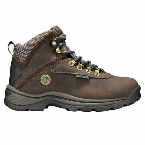 Timberland White Ledge Mid WP Mens Boot Padded Collar Size 10 Colors Brown $108.99