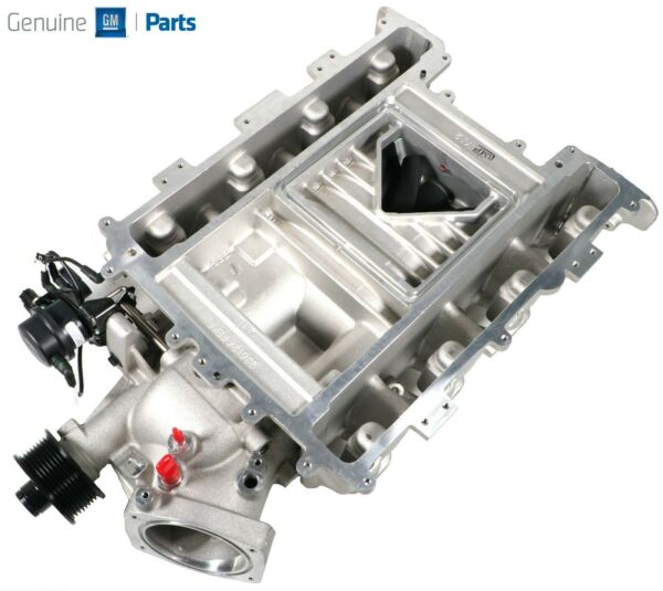 Camaro ZL1 Cadillac CTS V LSA Supercharger Assembly Snout New GM OEM *12670278