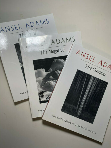 Ansel Adams The Camera The Negative and The Print Triology Paperback