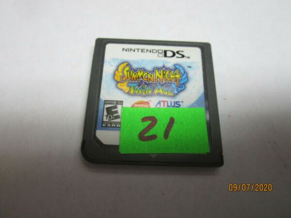Summon Night Twin Age Nintendo DS