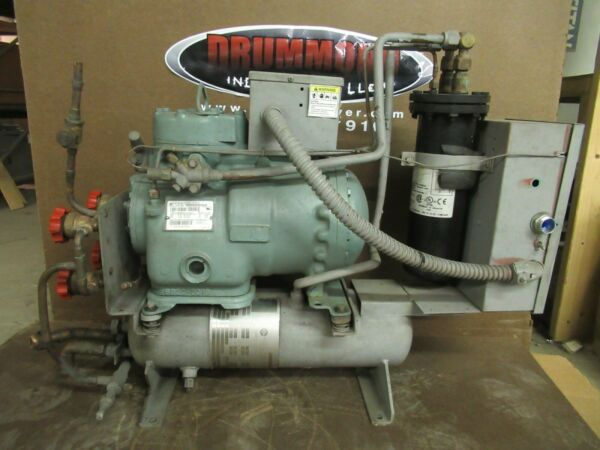CARRIER PUMP DOWN PURGE SYSTEM 19EA46 748 9 460 VAC CARLYLE 06DA8086 300 PSI $950.00