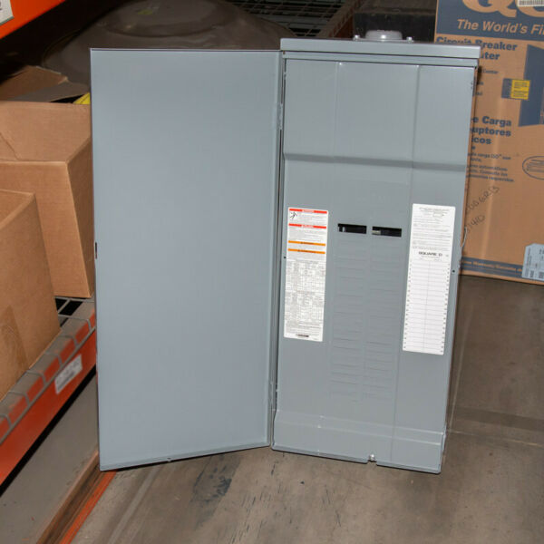 Schneider Electric 40 Space QO 200 Amp Outside Load Center MLO QO140L200GRB New $67.36