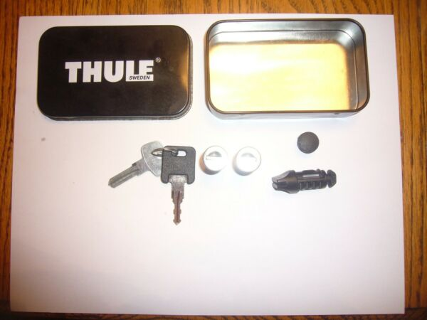 Thule Key Tin kit Installation Key Lock Core Lock Cover Plug Lock Plug $26.99