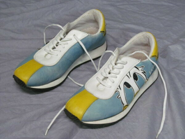 ICE Iceberg Women Size 38 Donald Duck Shoes Made in Italy $60.00