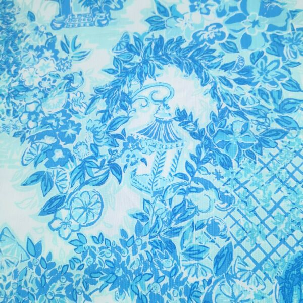 2# Lilly P DOBBY Cotton Fabric 1 yard X 55quot;