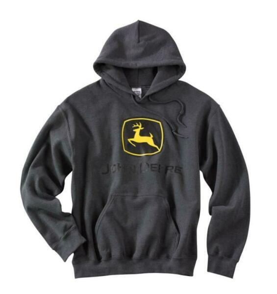 John Deere Gildan Hooded Sweatshirt