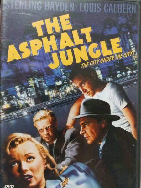The Asphalt Jungle with Sterling Hayden amp; Louis Calhern DVD 2004 Mint Disc $12.00