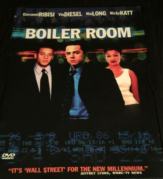 Boiler Room DVD Very Good No Scratches $3.98