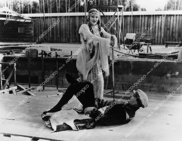 2729 3 Lew Cody Gloria Swanson playing around outdoor sets silent film Don#x27;t Cha $49.99