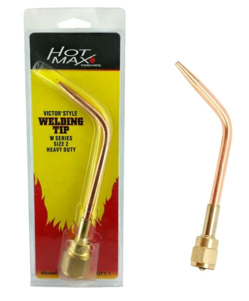 New Welding Tip Nozzle Heavy Duty Gas Heating Size 2 $16.99