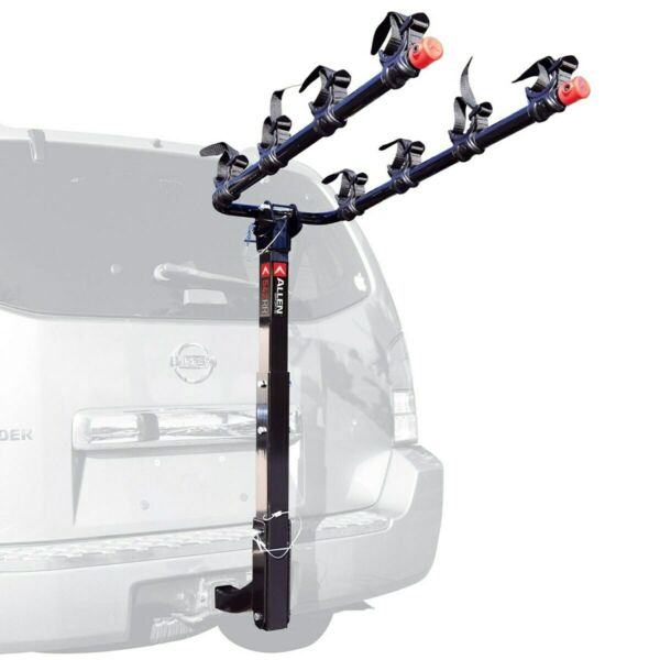 Allen Sports Deluxe 4 Bike Hitch Mount Rack Model 542RR R New Bicycle carrier $100.00