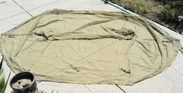 WWII US Military Jungle Mosquito Tent 1943 Bar Insect Field USMC Army Mint $65.00