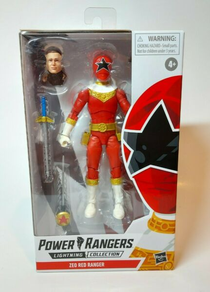 Power Rangers Lightning Collection Tommy Red Zeo Ranger In Hand $37.81