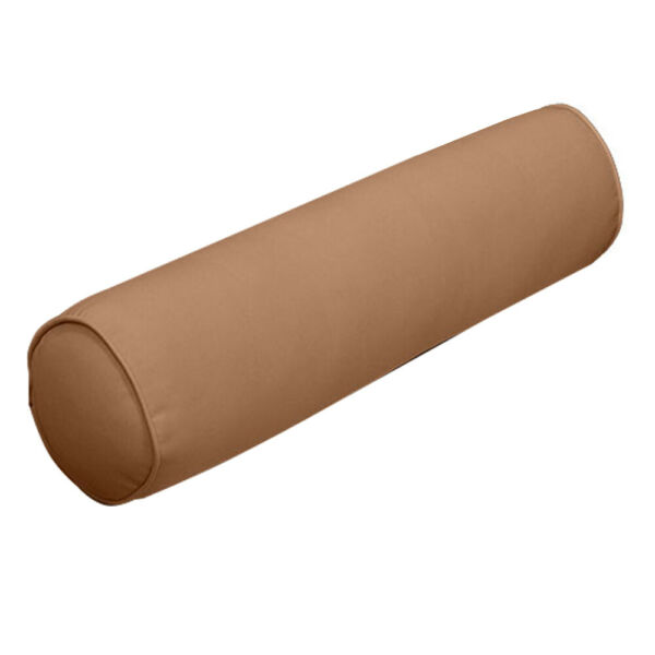 AD104 Small 23x6 Outdoor Pipe Trim Bolster Pillow Cushion Insert Slip Cover Set $37.77