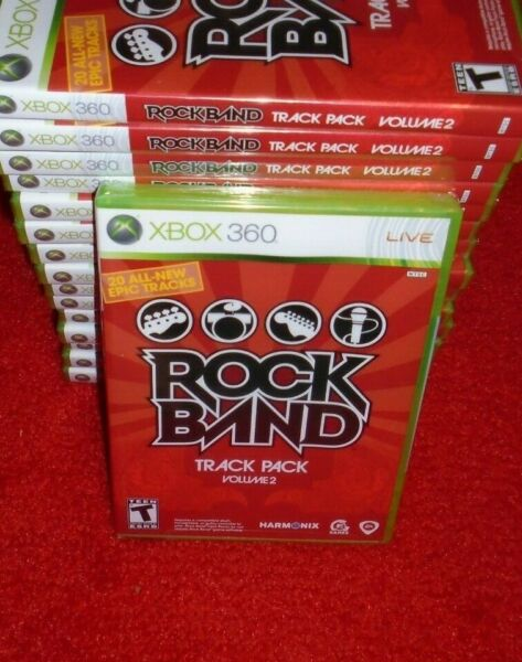 ROCK BAND TRACK PACK VOLUME 2 for XBOX 360 SYSTEM BRAND NEW XBOX 360 GAME $10.97