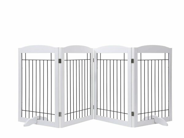 PAWLAND 30in Tall 4 Panel Dog Gate $105.95