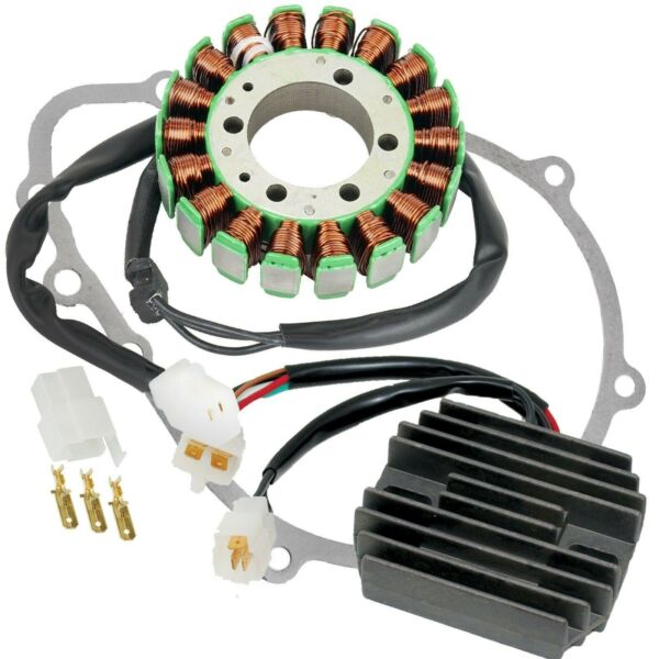 Stator Regulator Rectifier And Gasket fits Kawasaki Ninja ZX 6R ZX636 2005 2006 $78.85