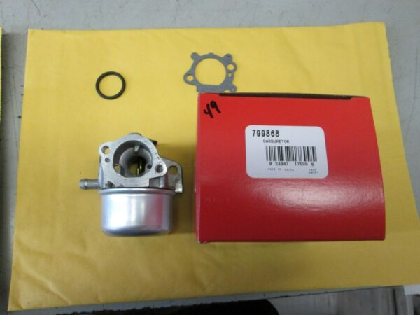 BRIGGS CARBURETOR PART# 799868 $43.34