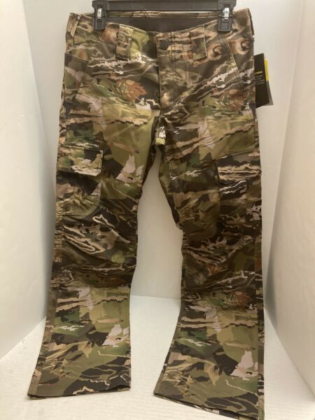 Under Armour Women#x27;s Storm Hunting Camo Pants 1254097 940 Camouflage Size 8
