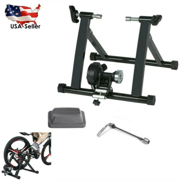 Bike Trainer Stand Magnetic Bicycle Stationary Stand For Indoor Exercise US $71.24