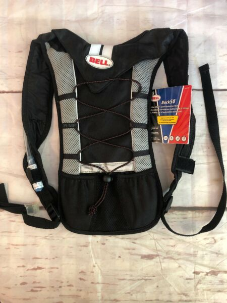 BELL Back 50 Hydration Pack New With Tags Black Hiking Vacation Water H2o $9.20