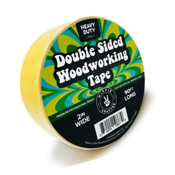 Double Stick Tape for Woodworking 2 inch Wide Wood Tape Double Sided for Wo... $26.02