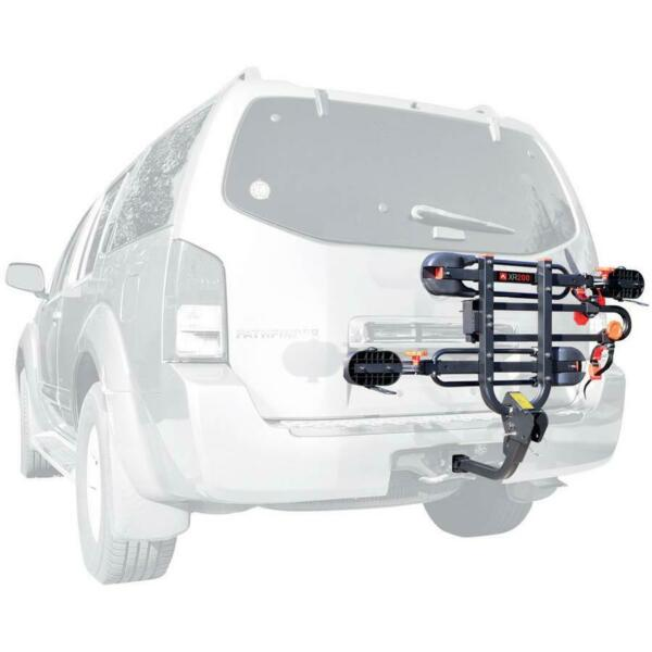 2 Bike Hitch Rack Carrier Trailer for 1 1 4quot; and 2quot; Hitch Easy Load Transport $119.50
