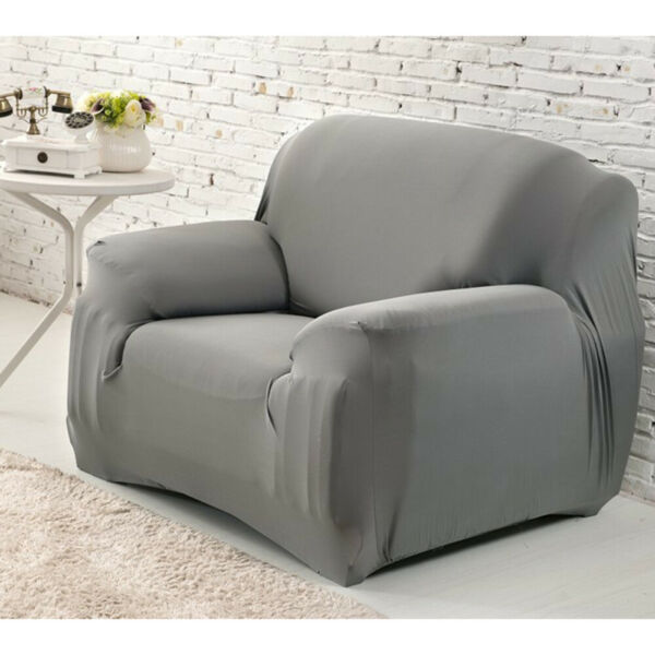 One Seat High Elasticity Anti mite Chair Covers Sofa Cover Slipcover Couch $19.98