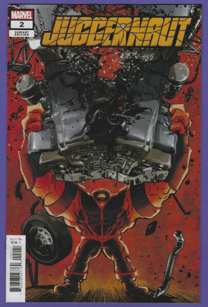 JUGGERNAUT #2 1:25 SUPERLOG VARIANT Actual Scans $14.99