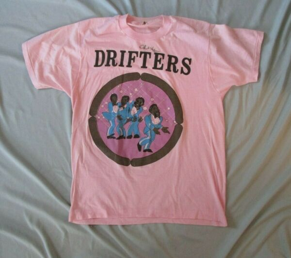 THE DRIFTERS VINTAGE SCREEN STARS T SHIRT SIGNED?