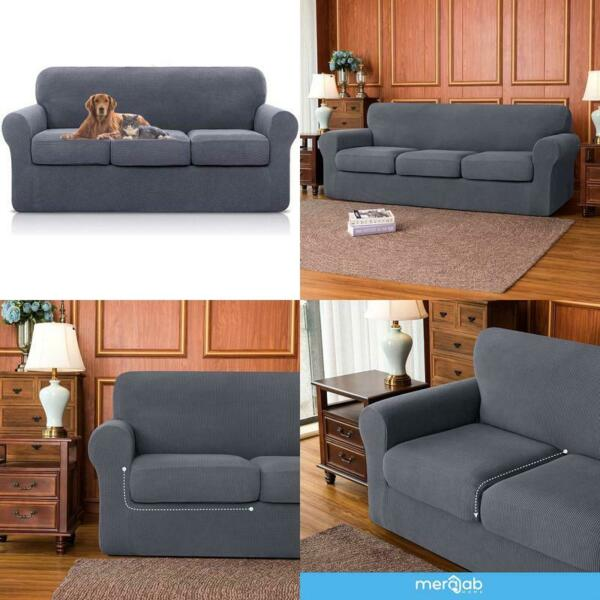 Sofa Slipcovers For 3 Seat Cushion Couch Separate Sofa Seat Cushion Replacemen $57.99