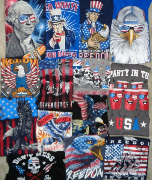 USA Independence Day America President Patriot July 4 T Shirt Tank Mens S 3XL Nw $9.89