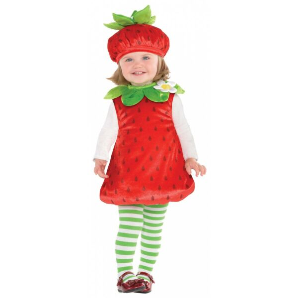Strawberry Baby Costume Halloween Fancy Dress
