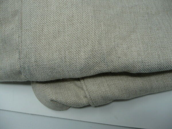 Pottery Barn Comfort Ottoman Slipcover Textured Twill Oatmeal 24x30 $89.00