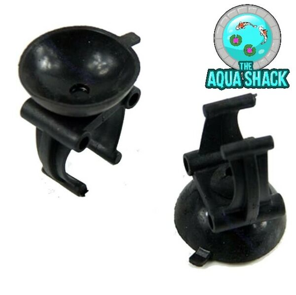 2 x Replacement Aquarium Heater Suction Cups Clips Suckers Fish Tank Thermostat $3.94