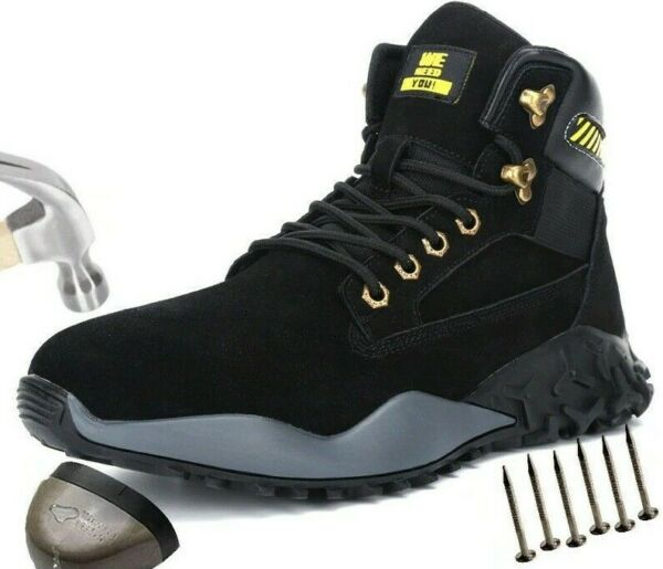 Winter Waterproof Snow Boots with Fur Warm Sneakers Indestructible for Men $67.98